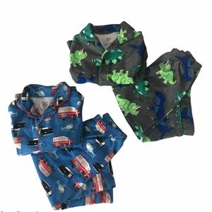 Just one you by Carter's 2T boys pajama bundle